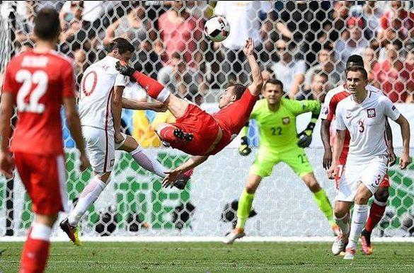 Гол Шакири стал украшением Евро – 2016, но не спас сборную Швейцарии от вылета из турнира