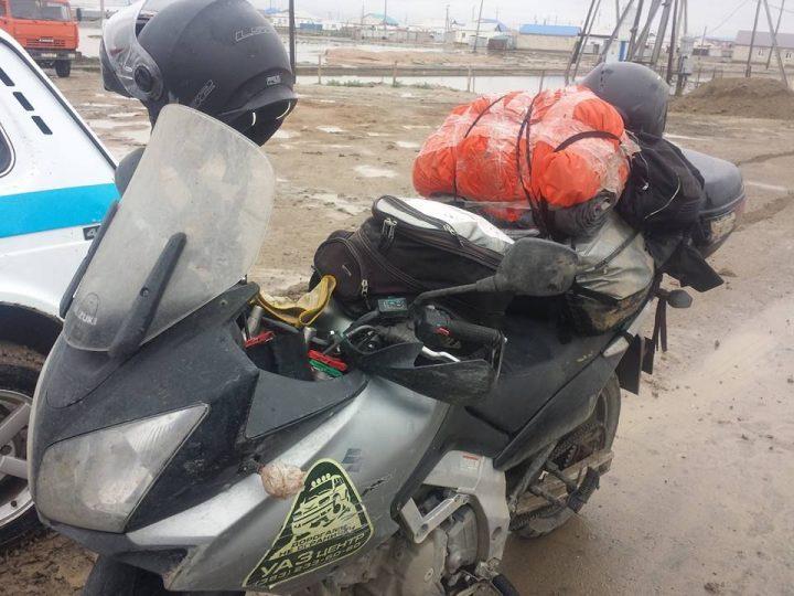 Мотоцикл Алонсо Карлоса