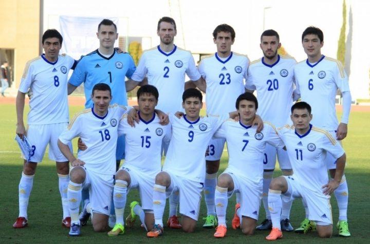 Сборная РК. Фото федерации футбола Казахстана