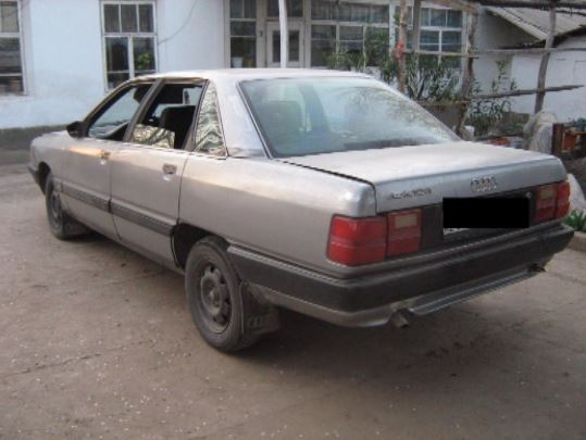 Угнанный автомобиль. Фото tvk-uko.kz