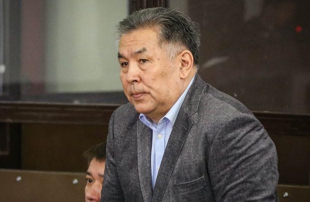К. Усенов в момент вынесения приговора. Источник - today.kz