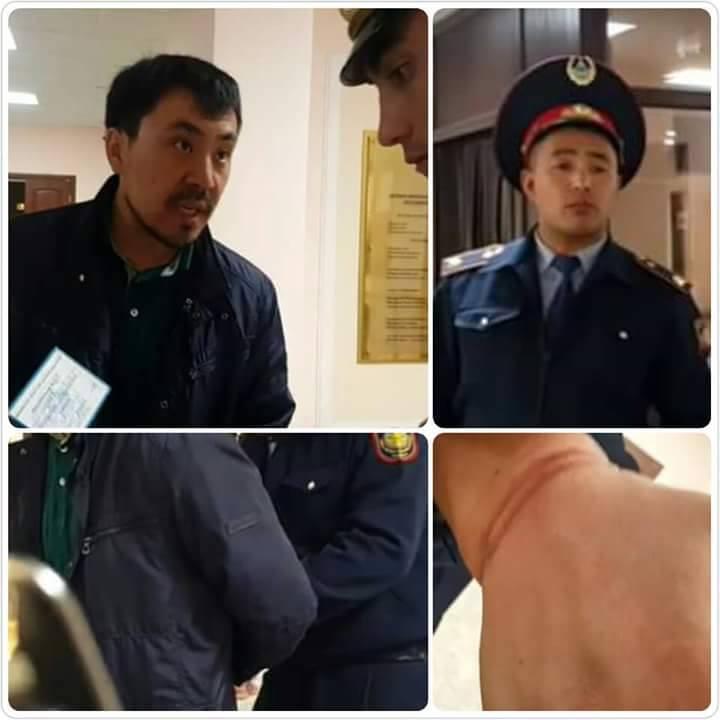 На адвоката надели наручники