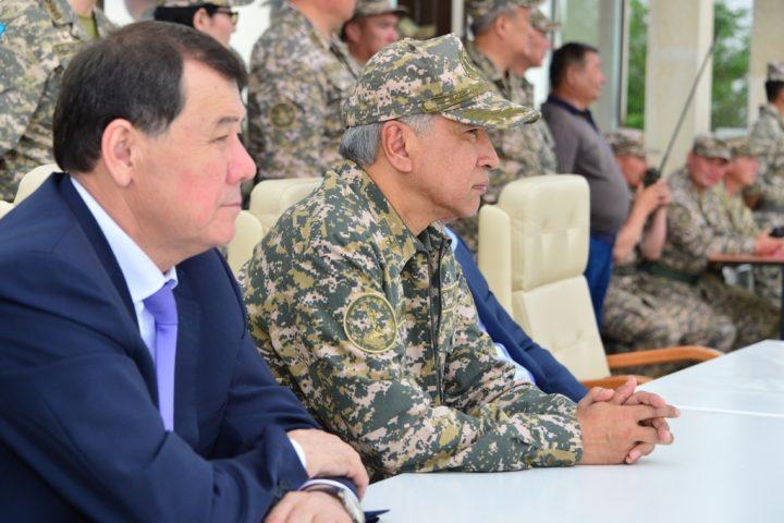 Фото пресс-службы Министерства обороны РК