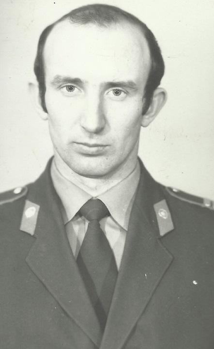 Александр Петрищев в молодости