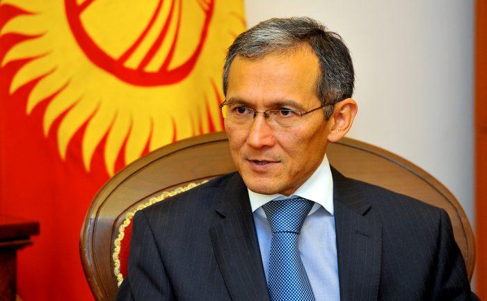 Джоомарт Оторбаев, премьер-министр Кыргызстана