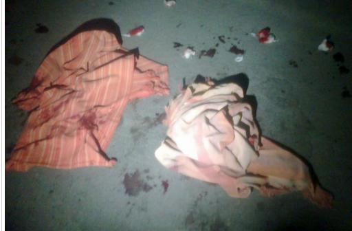 Фото с места преступления. Источник - tvk-uko.kz