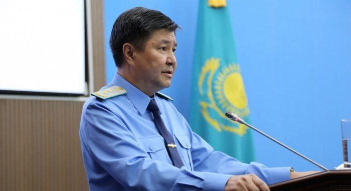 Ж. Асанов. Источник - prokuror.gov.kz
