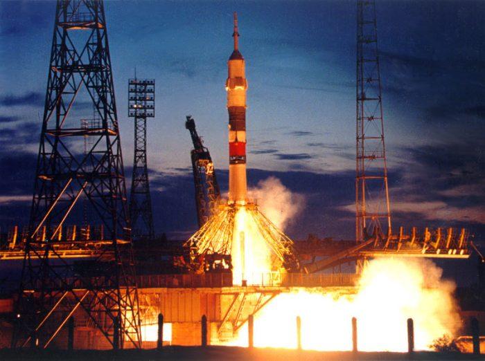 Пуск ракеты с космодрома Байконур. Источник -kapital.kz