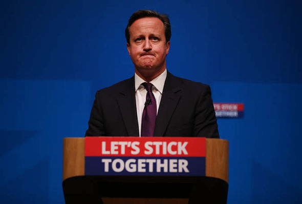 Дэвид Кэмерон расстроился из-за Brexit