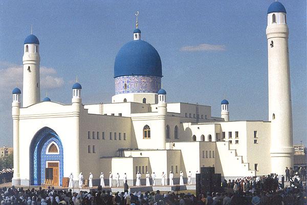 """Мечеть """"Имангали"""" в Атырау. Источник - atyrau-city.kz"""