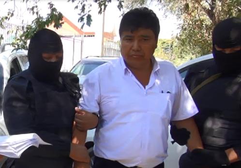 Задержание Смагулова. Фото антикоррупционной службы