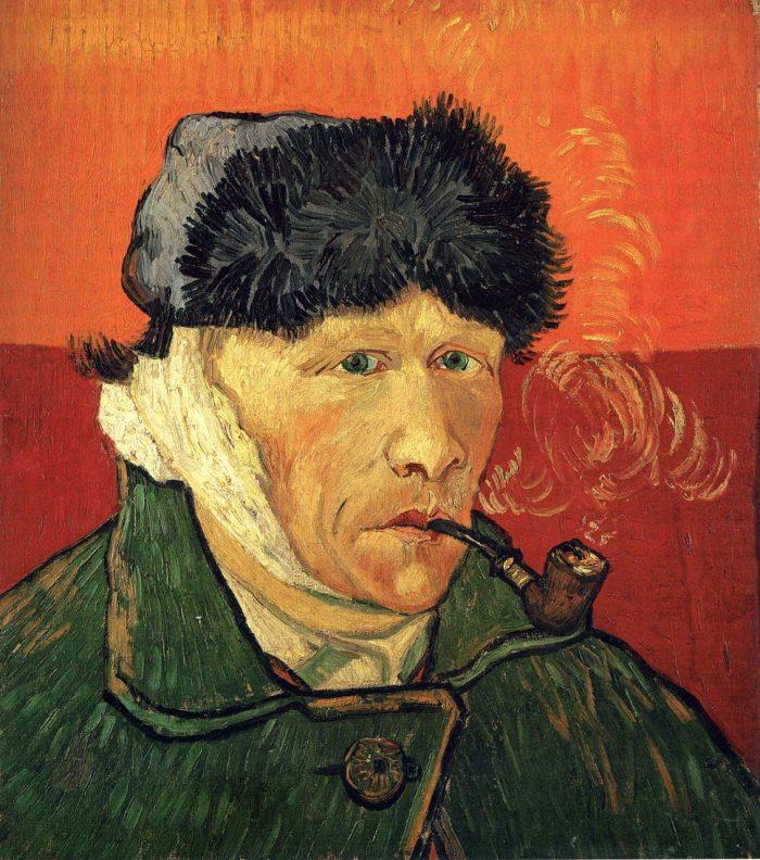 """Ван Гог. """"Автопортрет с перевязанным ухом"""". Источник - hudojnik-impressionist.ru"""