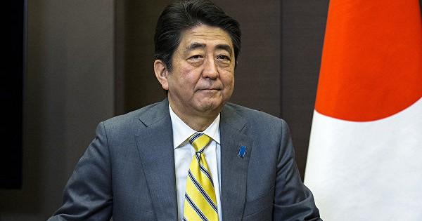 премьер-министр Японии Абе