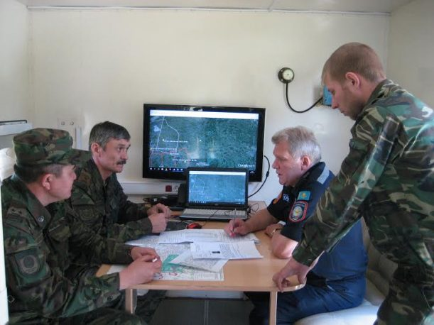 Фото департамента по ЧС Северо-Казахстанской области