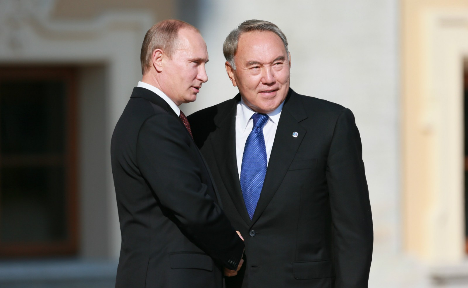 Назарбаев Путин