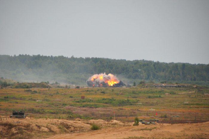 Фотографии пресс-службы Министерства обороны