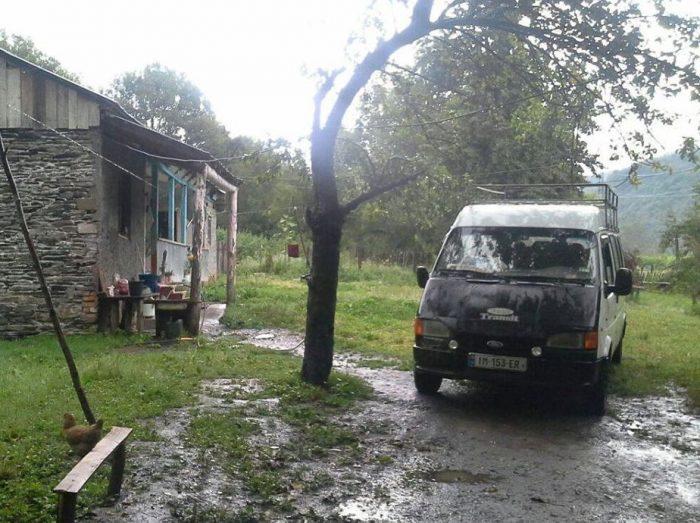 Фото автомобиля, присланное Сергеем из Грузии