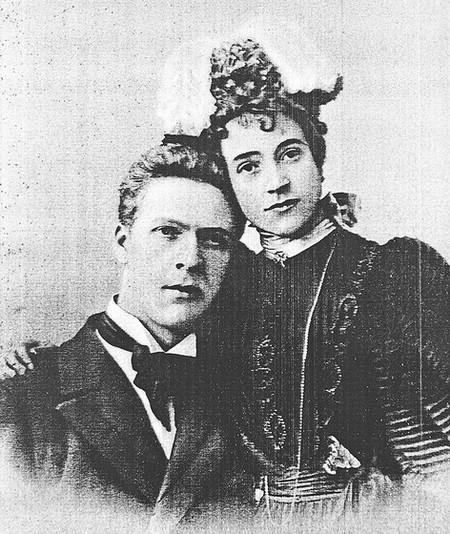 Федор Шаляпин и дама сердца