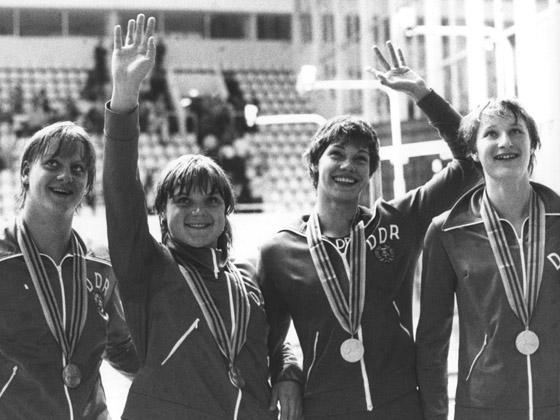 """Олимпийские чемпионы из ГДР - первые плоды госпрограммы по """"медицинскому"""" выращиванию звезд"""