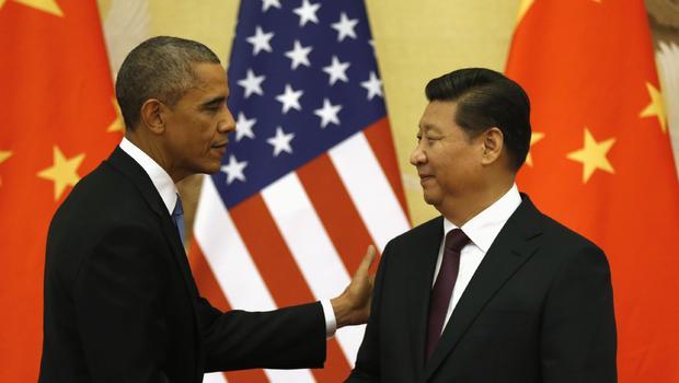 Обама и Си Цзинпинь