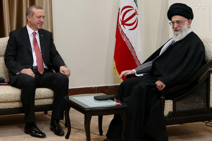 Президент Эрдоган и Аятолла Хомейни