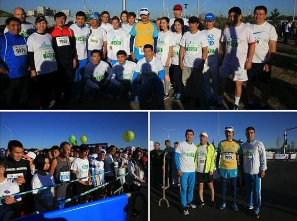 Премьер участвовал в«Астана марафоне»