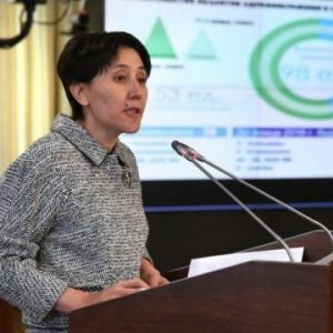 Тамар Дуйсенова, фото с сайта Primeminister.kz