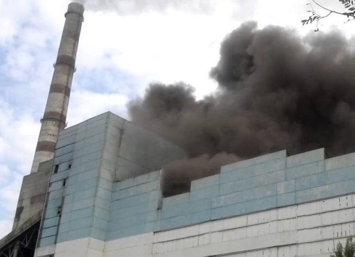 Фото с аварии на ТЭЦ-3 в Павлодаре 4 августа 2014 г. Источник - youtube
