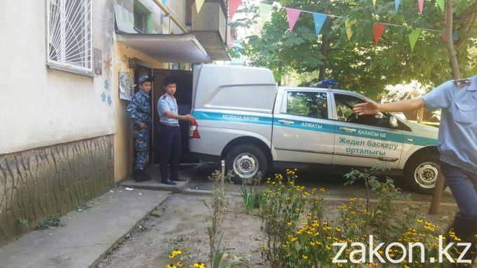 Фото с места происшествия. Источник - zakon.kz