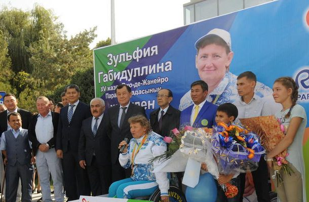Фото пресс-службы акима Жамбылской области