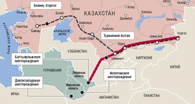 Новый газопровод Туркменистан-Иран готов к заполнению газом