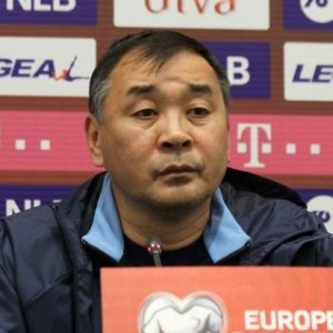 Талгат Байсуфинов, фото Федерации футбола Казахстана