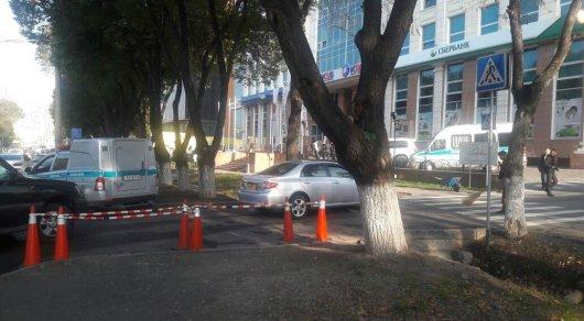 ДВД расследует факт нападения наклиента банка вАлматы
