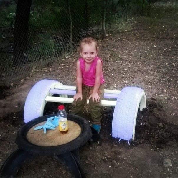До погрома на детской площадке