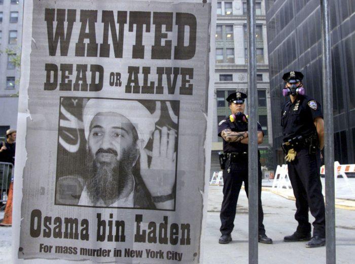 Осама Бен ладен, 11 сентября 2001 года, Нью-Йорк