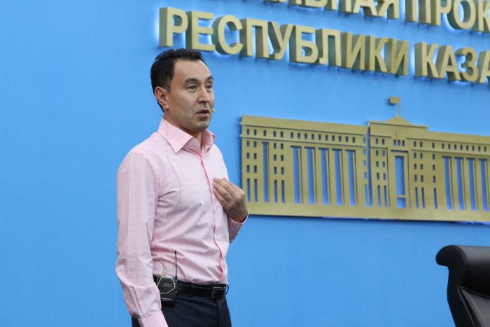 Источник - пресс-служба генпрокуратуры РК