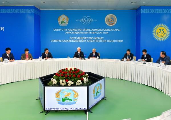 Ерик Султанов, Амандык Баталов, Северо-Казахстанская область