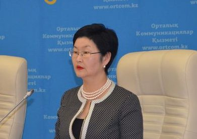Д. Ахметжанова. Источник - пресс-служба акимата Акмолинской области