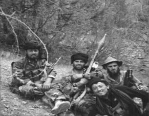 Боевики в Баткенской области