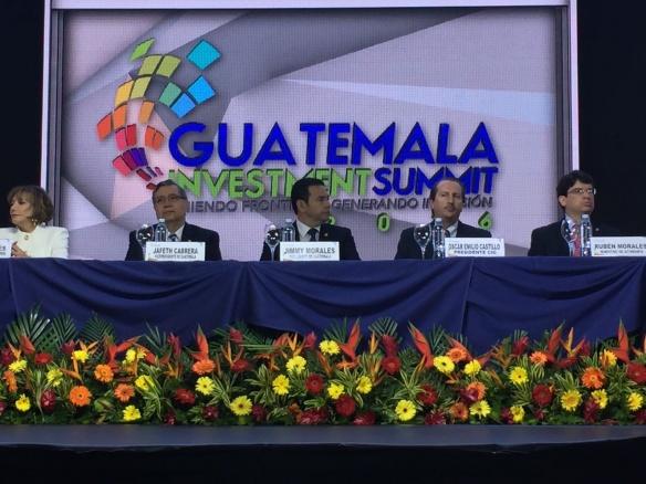 инвестсаммит Гватемалы