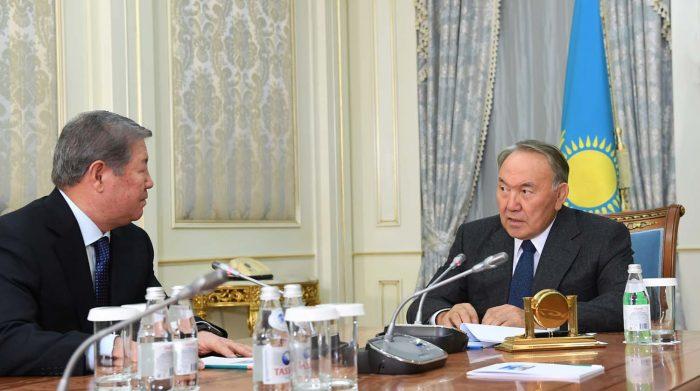 Назарбаев и Есимов