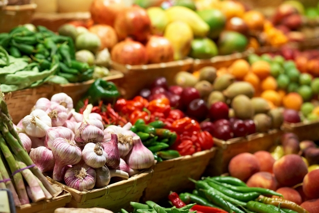 продукты на сельхозярмарке