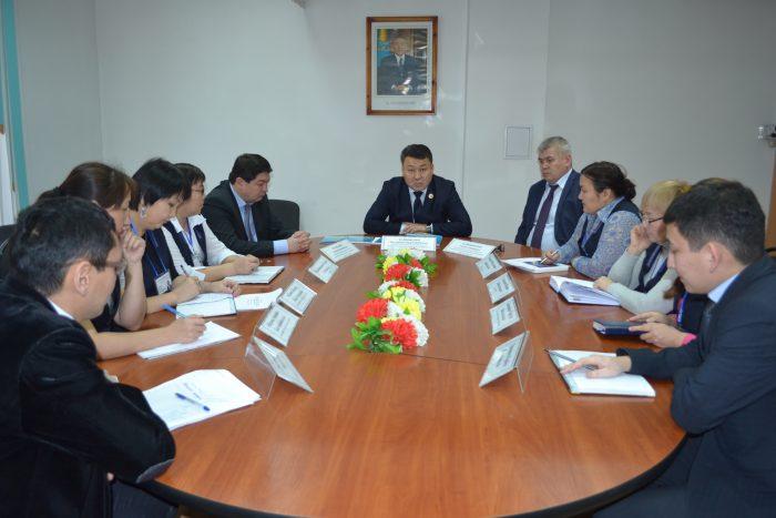 совещание в суде, Кокшетау