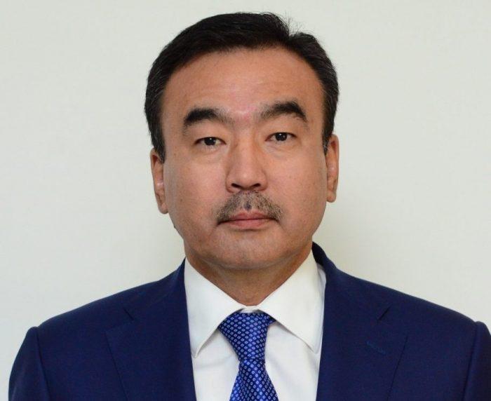 Б. Унербаев. Источник - сайт акимата Алматинской области