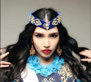 Зарина Тотаева, казахстанская модель