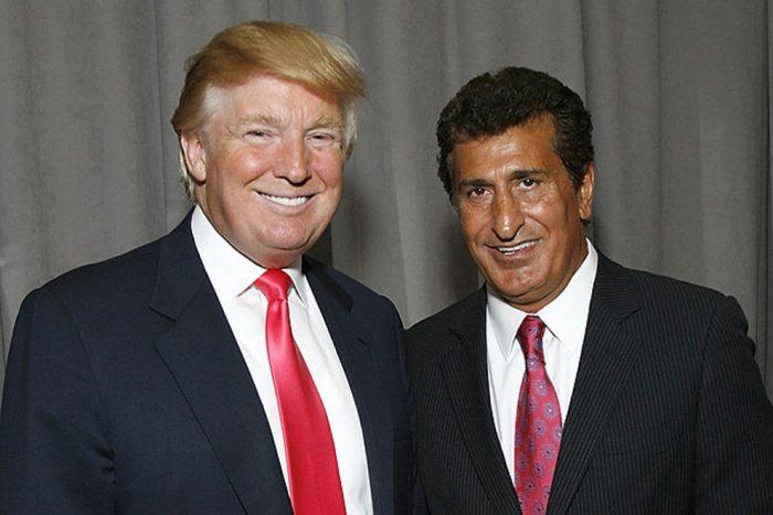 Tefvik Arif en Donald Trump