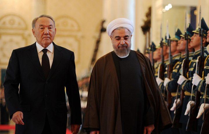 Нурсултан Назарбаев и Хасан Рухани