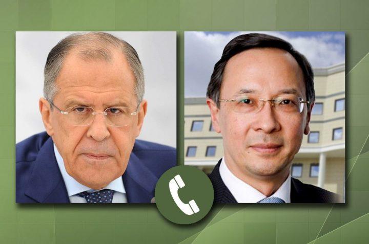 министры иностранных дел России и Казахстана