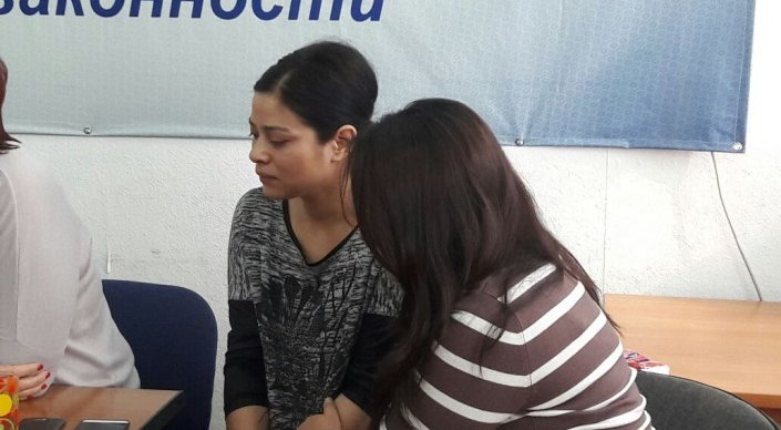 Аида Айсарова. Фото: tengrinews.kz