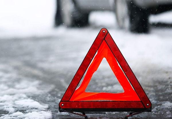 знак аварийной остановки зимой
